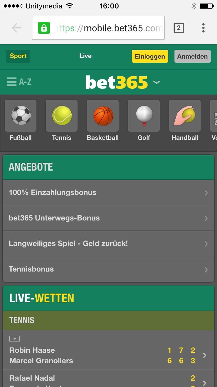 Bet At Home Mobile Wetten
