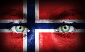 Norwegen face