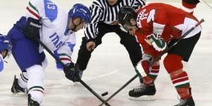 Die Eishockey-Tor-Strategie